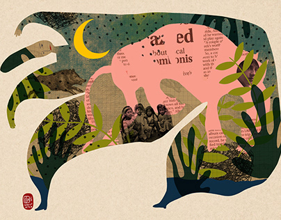 Editorial Illustration - BantMag No:71