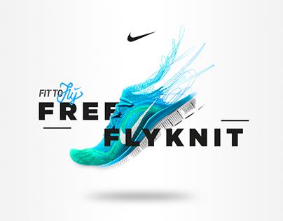 Nike Free Flyknit - Microsite