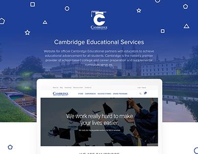 Cambridge Educational Services Website