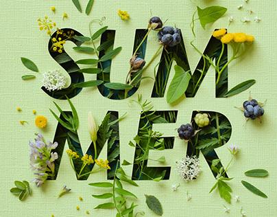 Summer | paper art