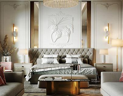 Neo - Classic Master Bedroom In KSA