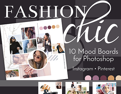 Mood Board Collection | Fashion Chic
