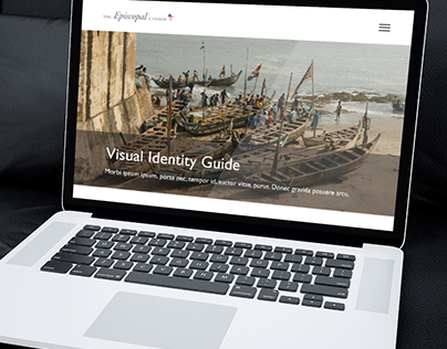 Visual Identity Guide Web Mockup - The Episcopal Church