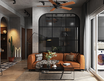 INDUSTRIAL STYLE APARTMENT