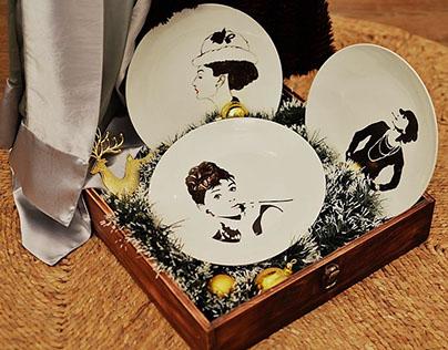 Hand-Painted Dish (2014)