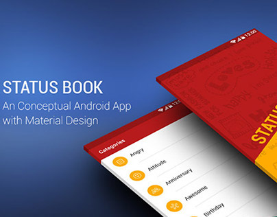 StatusBook_Material Design