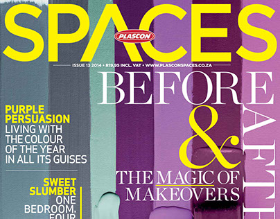 Plascon Spaces | Issue 13 2014 Publisher: New Media