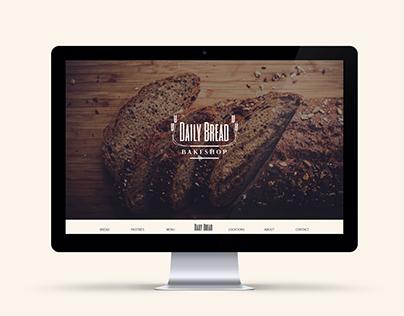 Daily Bread Web & Logo Design
