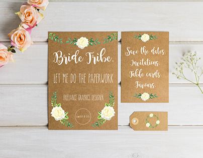 Wedding Advertisements - Freelance