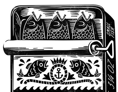Sardine Print