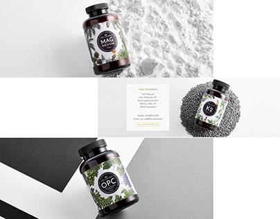 Illustration for natural product label