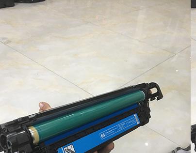 Đổ mực máy in mau HP CANON