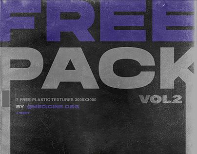 FREE 7 Plastic Textures/Mockup VOL2