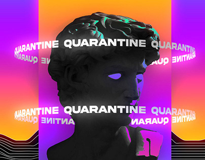 Quarantine Kinetic Motion Poster