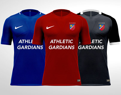 ATHLETIC GARDIANS - FOOTBALL KIT