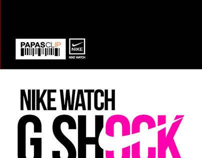 Nike watch G shock