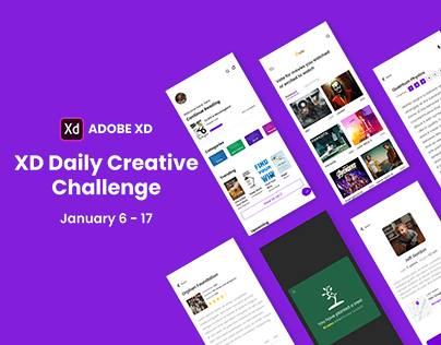 XD Daily Creative Challenge(Jan 6 - 17)