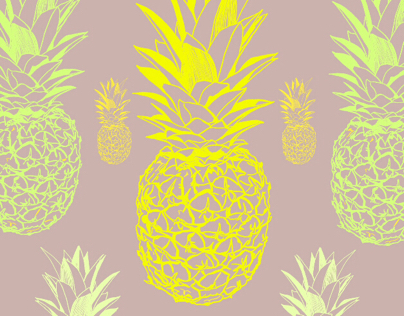 Neon Pineapple Tubelight