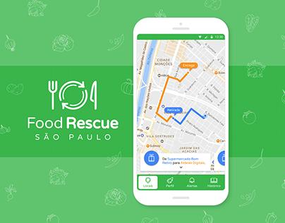 Food Rescue Mobile App UI/UX