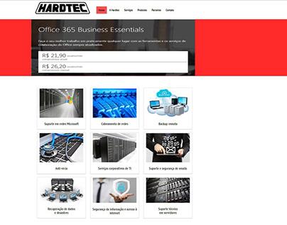 Hardtec - Consultoria em TI - Site Institucinal