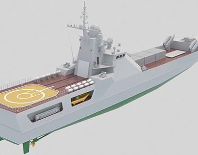 Десантный корабль 21810