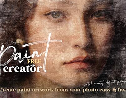 Free Paint Art Creator