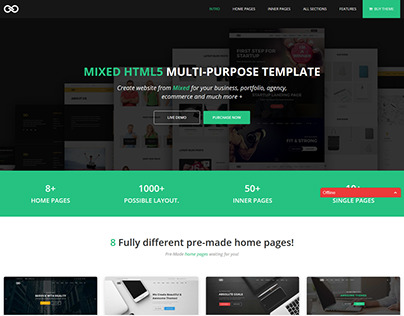 MIXED - Multipurpose Agency and Business Template