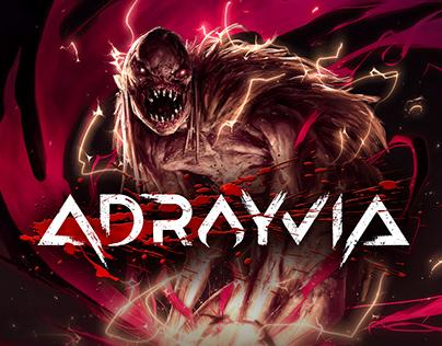 Adrayvia Game Logo Design