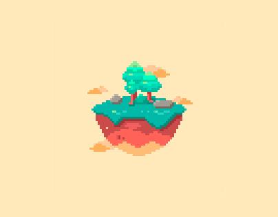 Pixel Art - La Isle