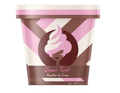 Queen Twist Neopolitan