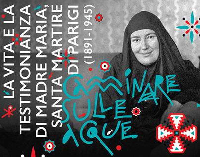Exhibition design dedicated to St. Maria Skobtsova