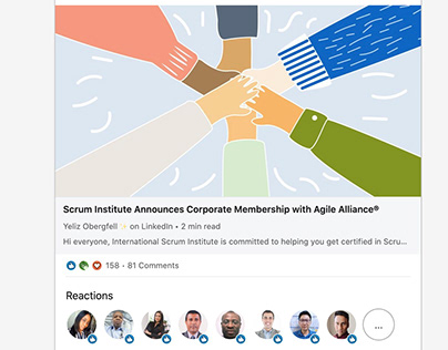 Scrum Institute™ Announces Membership To Agile Alliance