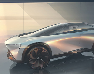 BUICK ELECTRA CONCEPT (2020)-Press sketch