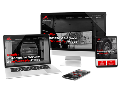 Automotive Website Design and Development
