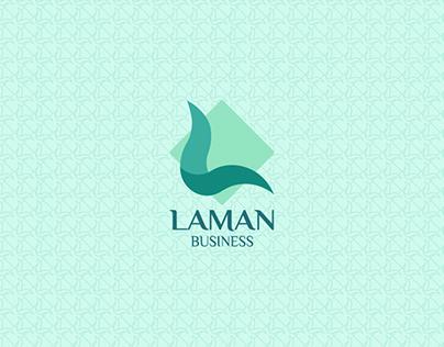 Logotipo LAMAN Business