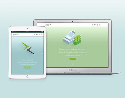 Zizo | Website Design 2014