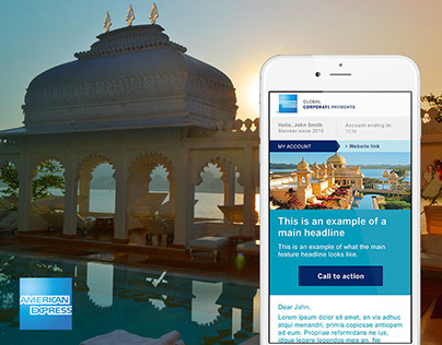 American Express: digital campaigns
