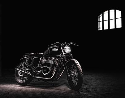 Project automotive and Motorcycle: Triumph Bonneville