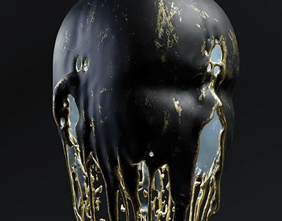 Melting Head | full CGI