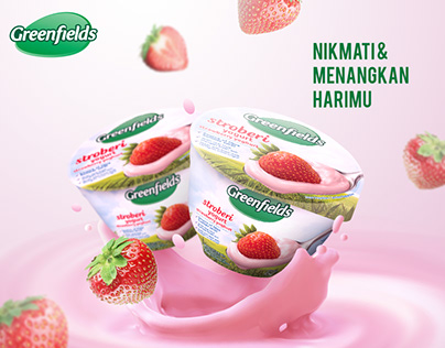 Greenfields Yogurt Key Visual