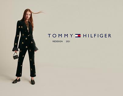 Tommy Hilfiger - online store redesign