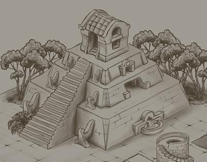 Game Level Concept Design