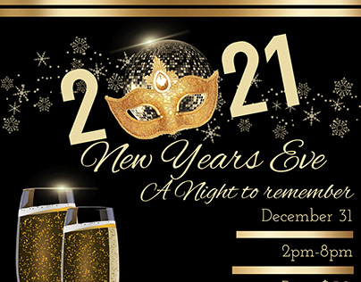 New Years Eve Event Template