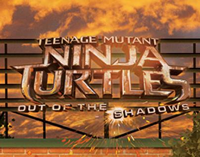 Teenage Mutant Ninja Turtles 2 Sunset Poster
