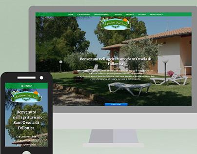 Agriturismo Sant'Orsola - Web Design
