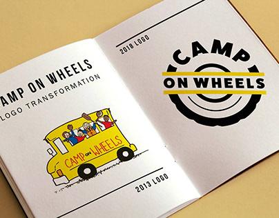 Camp on Wheels Logo