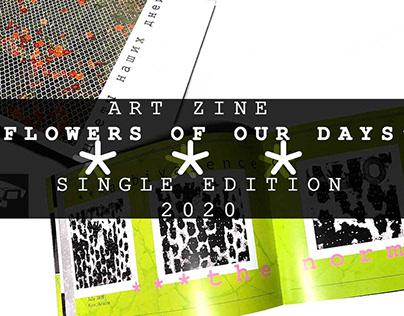 FLOWERS OF OUR LIFE 1.0 magazine/art zine