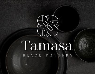 Tamasā | Black Pottery | Branding