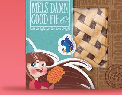 Damn Good Pies Packaging