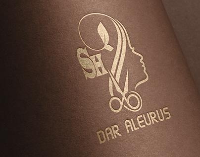 Women's coiffure logo     شعار كوافير نسائي